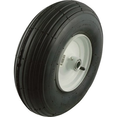 Marathon Tires Wheelbarrow Assembly, 3/4in. Bore