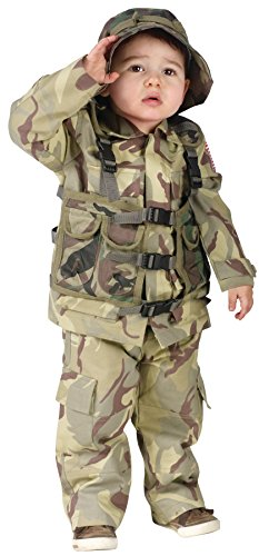 Little Boy's Army Delta Force Toddler Halloween Costume