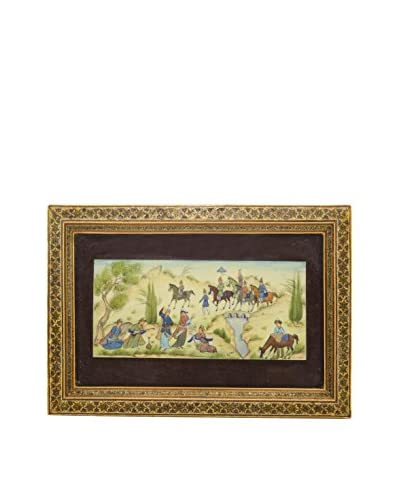 Painting in Detailed Frame, Multi