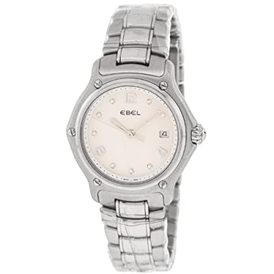 Ebel 1911 E9087221 Stainless Steel Quartz Womens Watch
