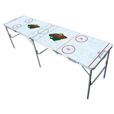 Minnesota Wild 2x8 Tailgate Table