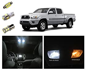 05-15 Toyota Tacoma LED Package Interior + Tag + Reverse Lights (9 pieces)