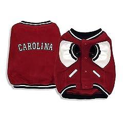 Sporty K9 South Carolina Varsity Dog Jacket, Large by Sporty K9