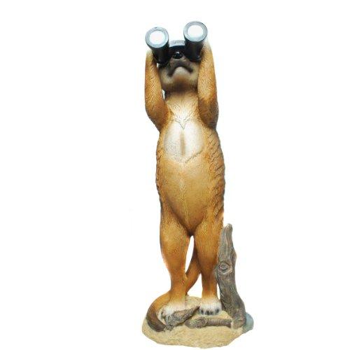 Erdmännchen Figur mit Fernglas (E17) Gartenfigur-verschiedene Modelle in meinem Shop- Wetterfest Gartenzwerg Deko Polystone