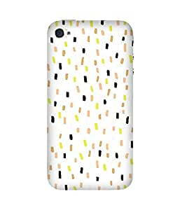 Confetti Back Cover Case for Apple iPhone 4/4S