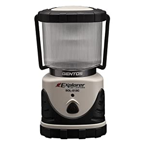 GENTOS(ジェントス) エクスプローラー LEDランタン SOL013C ライトモカ [明るさ530ルーメン/実用点灯20時間] SOL-013C