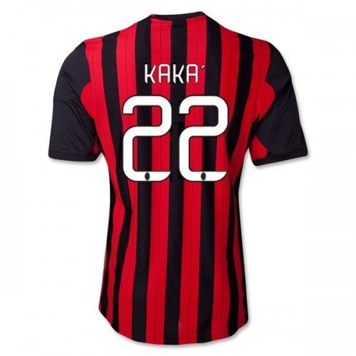 #22 KAKA AC Milan Home 2013-14 Kid Soccer Jersey & Matching Short Set