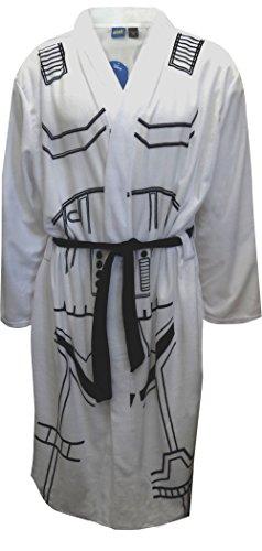 Star Wars Storm Trooper Fleece Robe for men (One Size)