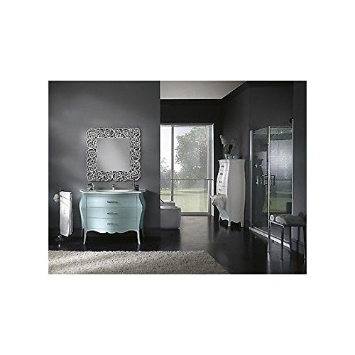 Mobile bathroom furniture Lacquered Water Marina Swarovski- without Mirror - As Photo