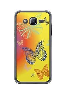 YuBingo Butterflies Mobile Case Back Cover for Samsung Galaxy J5