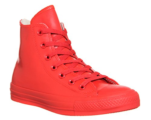 Converse Unisex Chuck Taylor All Star Hi Red Basketball Shoe 10 Men US / 12 Women US