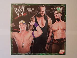 (11x12) WWE Wrestling 16-Month 2012 Sports Calendar