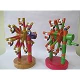 BuyRudraksha Toys & Games - Wooden Giant Wheel For Kids & Children