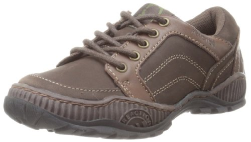 Kenneth Cole Reaction Glow In The Mark Oxford (Little Kid/Big Kid),Dark Brown,4 M US Big Kid Picture