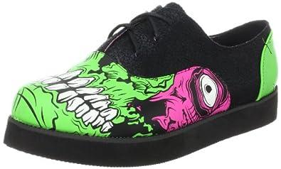 Iron Fist Women's Zombie Stomper Creeper Oxford,Black,11 M US