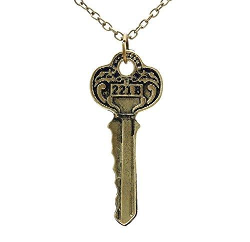 collier-sautoir-pendentif-cle-sherlock-holmes-avec-gravure-221b-plaque-bronze-vintage-antique-unisex