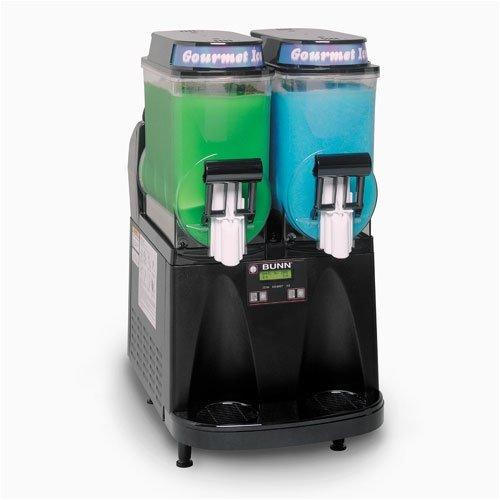 BUNN Ultra-2 Gourmet Ice Frozen Drink Machine w/ Black Decor