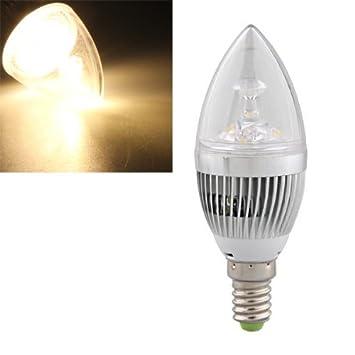 e14 3 led ampoule bougie bougie spot eclairage blanc chaud dimmable 300lm 300lm 3600k cuisine. Black Bedroom Furniture Sets. Home Design Ideas