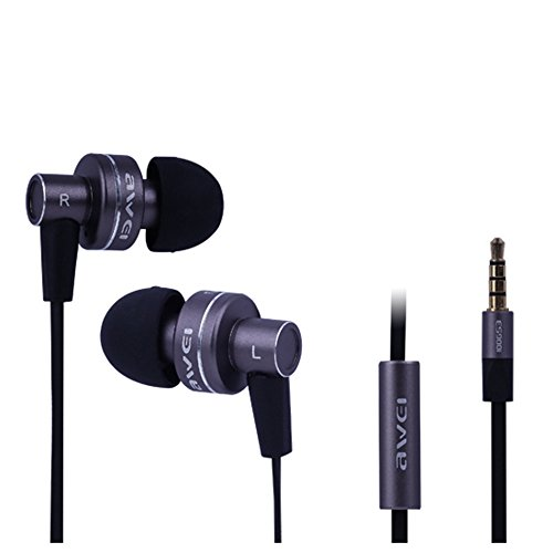Mkt Es900I Gray Genuine Noise Isolating Hi-Definition Noodles Cable Headphone Earphone With Mic For Samsung (Gray)