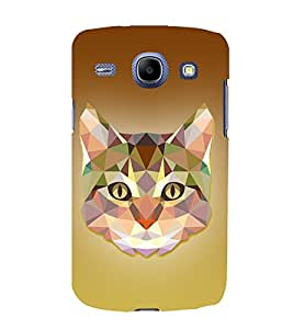 Meow Cat 3D Graphics Cute Fashion 3D Hard Polycarbonate Designer Back Case Cover for Samsung Galaxy Core I8260 :: Samsung Galaxy Core I8262 Duos