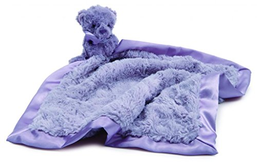 Jellycat® Souffle Lavender Bear Soother Blankie front-1028026