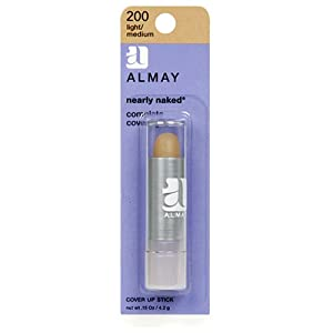 Almay Nearly Naked Cover Up Stick, Light/Medium 200
