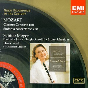 Great Recordings Of The Century - Mozart: Clarinet Concerto, Sinfonia Concertante / Meyer, Vonk
