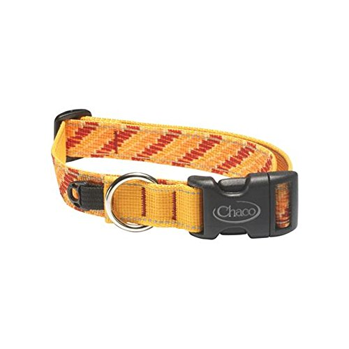 635841173332 - Chaco Dog Collar, Tangerine Steps, Small carousel main 0