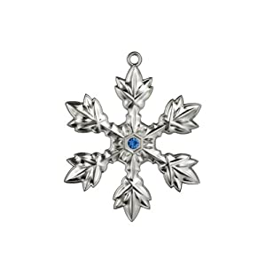 Waterford Silver 2013 Snowflake Ornament