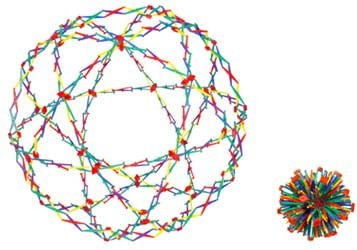 Buy Cheap Original Hoberman Sphere--Rainbow
