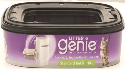 Litter Genie Cat Litter Disposal System Refill Cartridge
