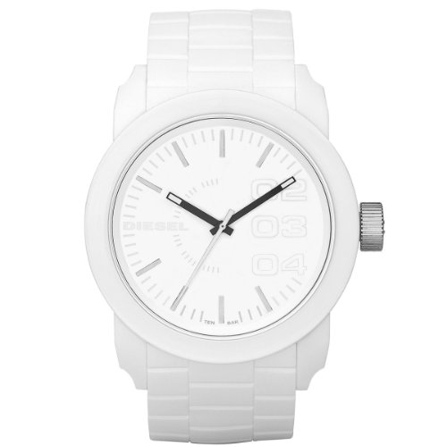 Diesel Men's Quartz Watch Franchise-S44 DZ1436 with Plastic Strap