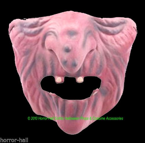 [Evil Wicked WITCH HALF MASK-Gargoyle Monster Halloween Cosplay Costume Accessory] (Toothless Dragon Cat Costume)