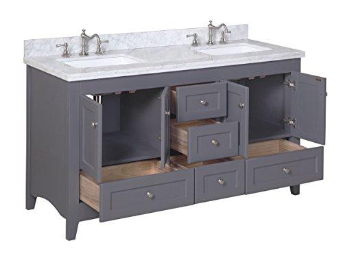 Kitchen Bath Collection Kbc38602gycarr D Abbey Double Sink
