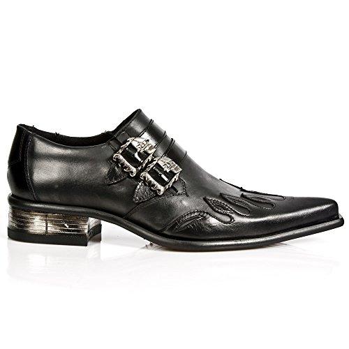 New Rock M 2358 S1, scarpe da città da uomo, Nero (Noir (Nomada Negro/Itali Negro/Cuerol)), 45