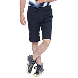 Parx Blue Men's Shorts (XMHY00172-B882F030)
