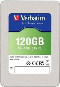 Verbatim 120 GB SATA III Internal SSD 6.0 Gb-s 2.5-Inch 47378