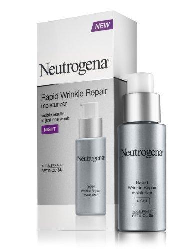 Neutrogena Rapid Wrinkle Repair Night Moisturizer, 1 Oz -1 P