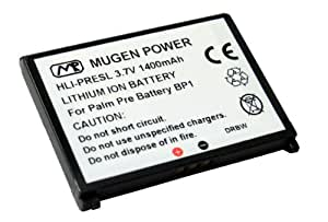Mugen Power Extended Battery 1400mAh for Palm Pre / Plus / GSM / Palm Pixi