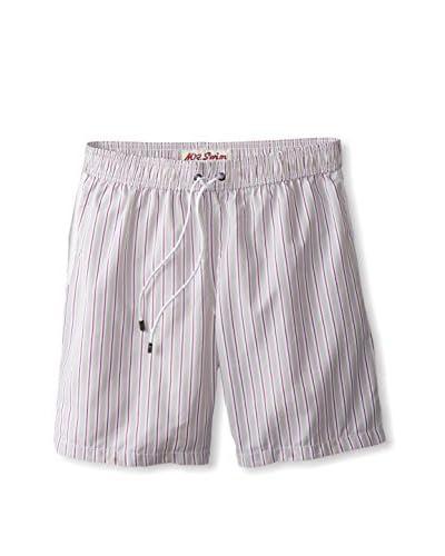 "Mr. Swim Men's Narrow Stripe 7.5"" Swim Trunks"