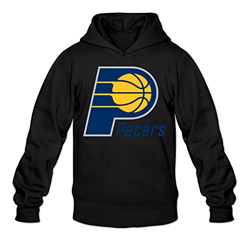 Show Time Men's Indiana Logo Pacers Long Sleeve Hoodie Black XL (Inquisition Merchandise compare prices)