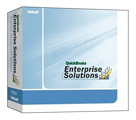 Quickbooks Enterprise Solutions 8.0, 10 Users [Old Version]