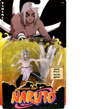 Picture of Mattel Naruto Deluxe Kimimaro Action Figure (B0013FQOEW) (Naruto Action Figures)