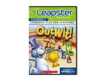 LeapFrog Leapster  Learning Game: Scholastic Outwit - 1