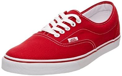 Vans U LPE RED, Unisex-Erwachsene Sneakers, Rot (Red / RED), 34.5 EU (2.5 Erwachsene UK)