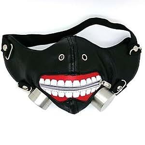 Amazon.com: MU Tokyo Ghoul Ken Kaneki Half Face Mask23.99