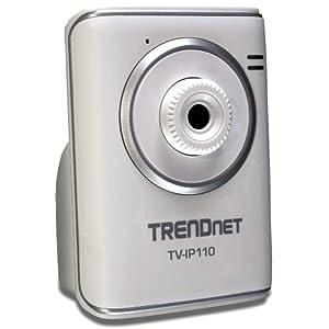 TRENDnet SecurView Internet Surveillance Camera TV-IP110 (Silver)