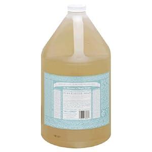 Dr. Bronners - Magic Pure-Castile Soap Organic Baby-Mild - 128 oz. - 1 Gallon