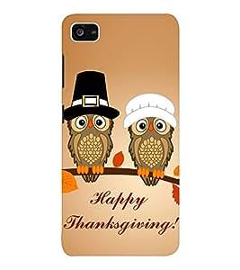 EPICCASE happy thanksgiving Mobile Back Case Cover For Lenovo ZUK Z2 (Designer Case)