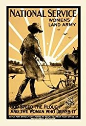 30 x 20 Stretched Canvas Poster National Service Women\'s Land Army